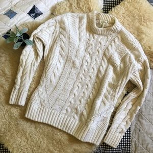 Cuddly ⛅️ wool blend sweater from H&M